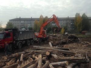 Снос деревянных домов по адресу: г. Серов, ул. Добрынина, 58/60; г. Серов, ул. И.Малышева, 94; г. Се