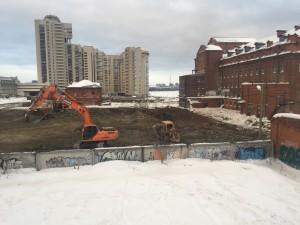 Макаровский квартал - разработка котлована 20 000м3